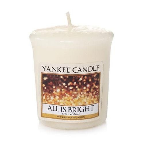 Yankee Candle Votive Candle All is Bright