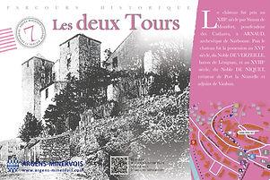 Le château et ses 2 tours emblématiques