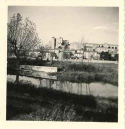 Village vu depuis le lavoir