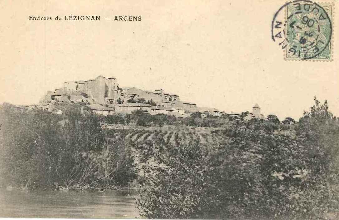 Chateau vu de l'Aude