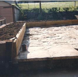 A new courtyard garden