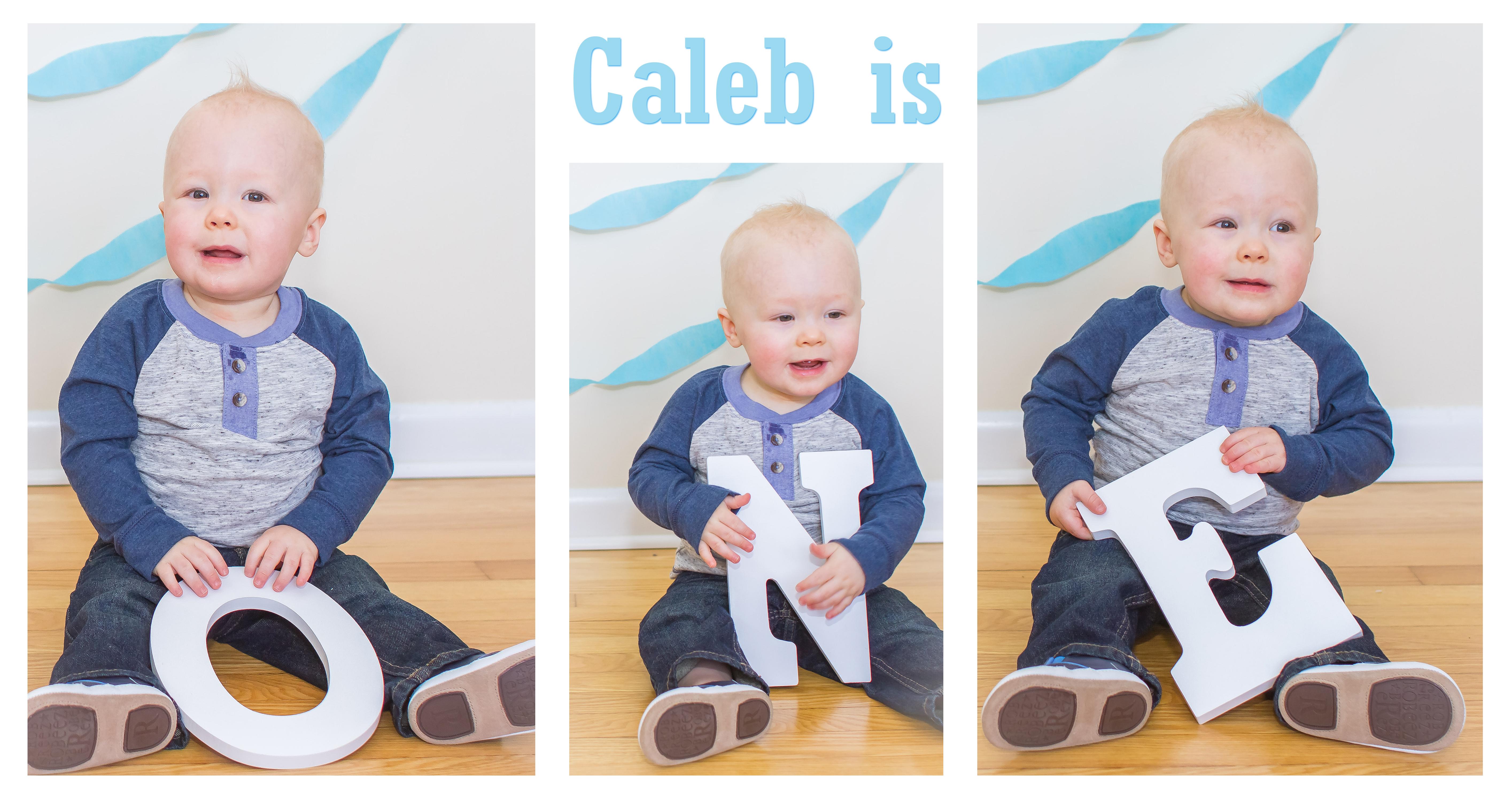 caleb is one