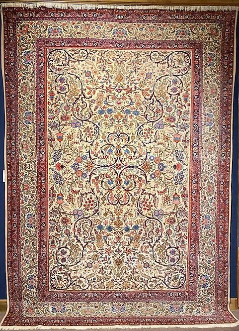 "8'8""X12'3"" Antique Persian Kerman"