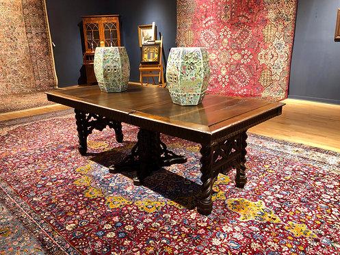 Antique Renaissance Dining Room Table