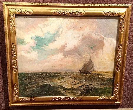 SHIP IN HIGH SEAS BY FRANK KNOX MORTON REHN