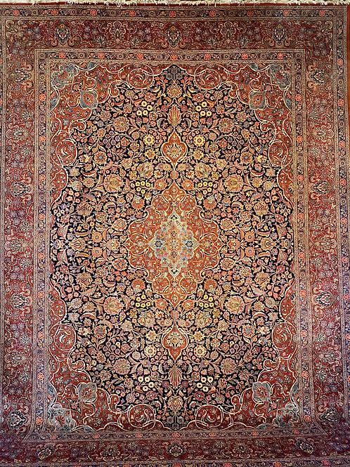 """10'4""""X13'10"""" Persian Dabir Keshan"""