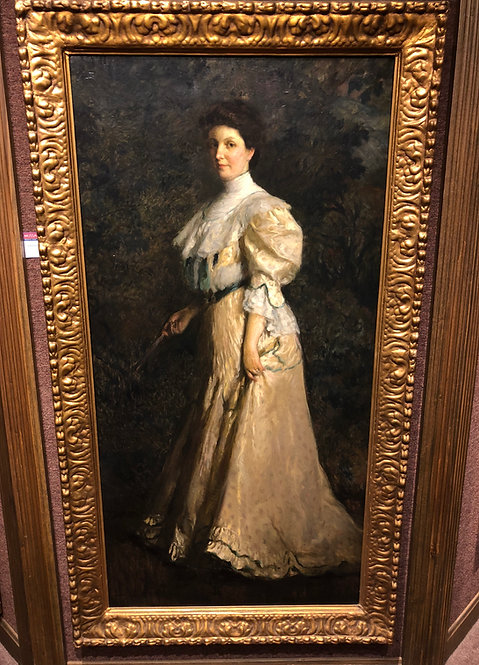 """Aristocratic Lady"" By: John Singer Sargent"