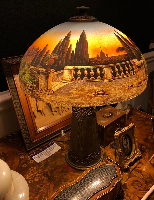 Antique Handel Lamp