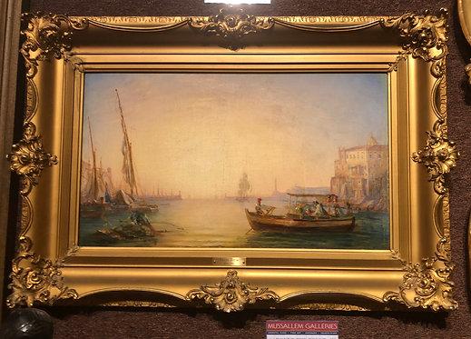 """Venice"" by: Felix Ziem"
