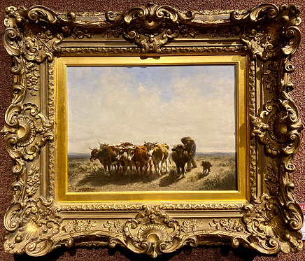 Bringing Home the Herd By: Constant Troyon