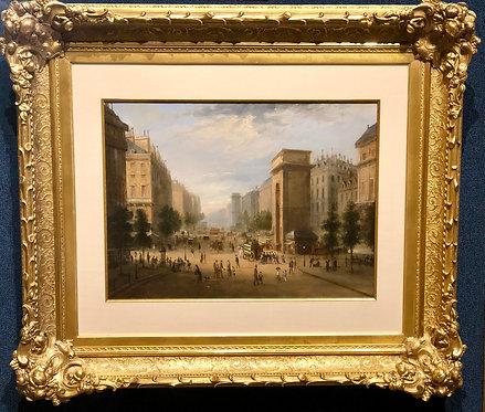 """Paris Street Scene""  By: Camille Pissarro"