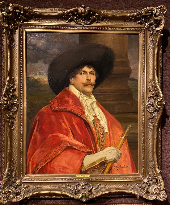 The Cavalier in Red By: Alex De Andreis