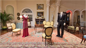 Rugs So Vibrant, They Almost Glitter! Downtown Abbey Exhibition @ Lightner Museum