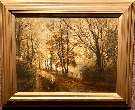 Monumental Forest Landscape By: John Henry Moser