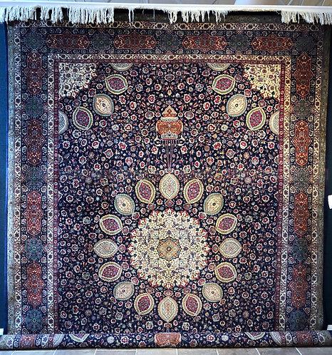 "11'4""X16'7"" Semi-Antique Persian Ardebil Tabriz"