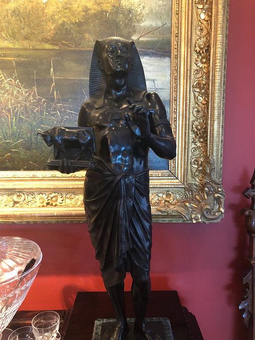 Pair of Bronze Statues
