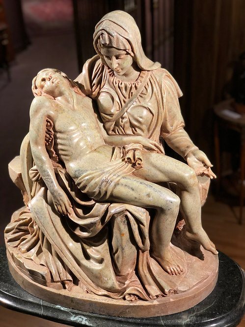 "Marble Carving of ""The Pieta"""