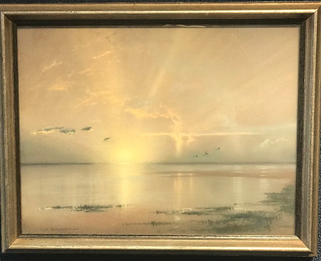 Sunrise by Alfred Fred August Felix Bachman