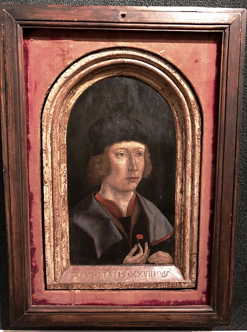 Antique Old Master Portrait