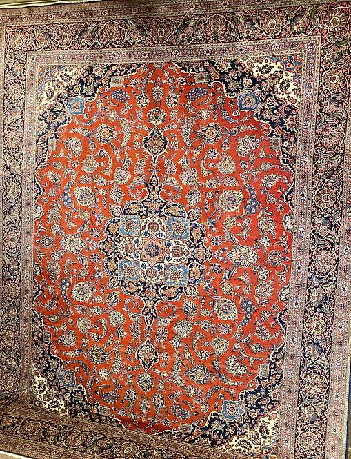 """10'6""""X13'9"""" Persian Keshan"""
