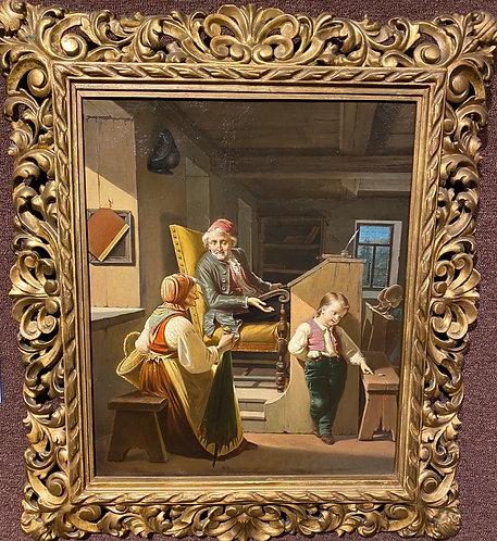 """""""Schoolmaster's Discipline"""" By: Auguste Heyn"""