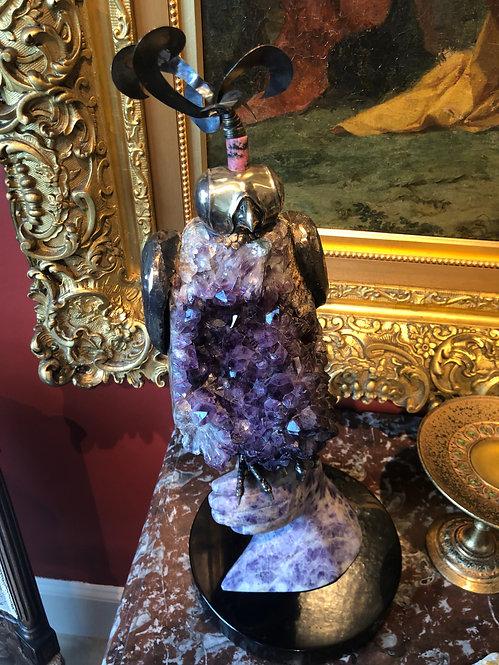 Cartier Paris Amethyst Falcon