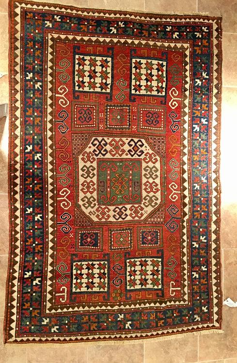 """7'4""""X5'4"""" Antique Karachopt Kazak"""