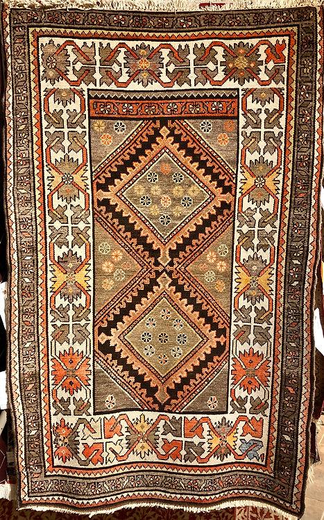 "3'2""X4'11"" Antique Persian Hamadan"