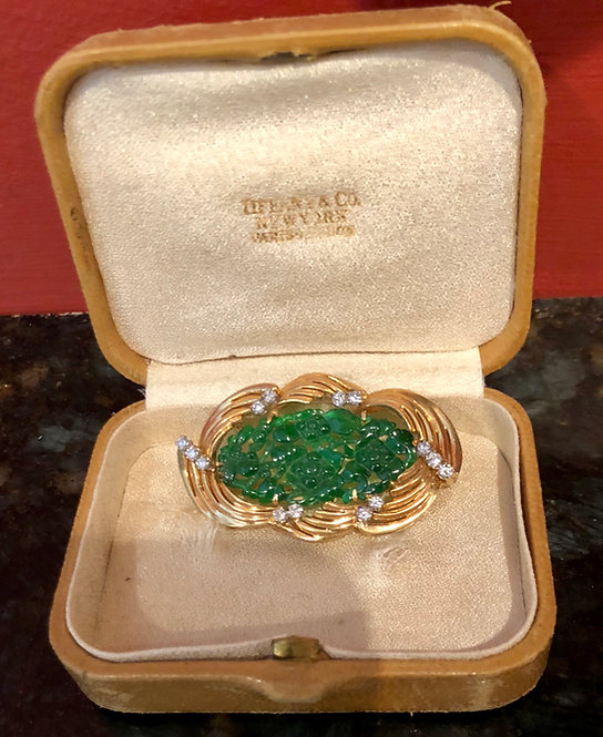 Tiffany and Co Royal Imperial Jadeite Pendant