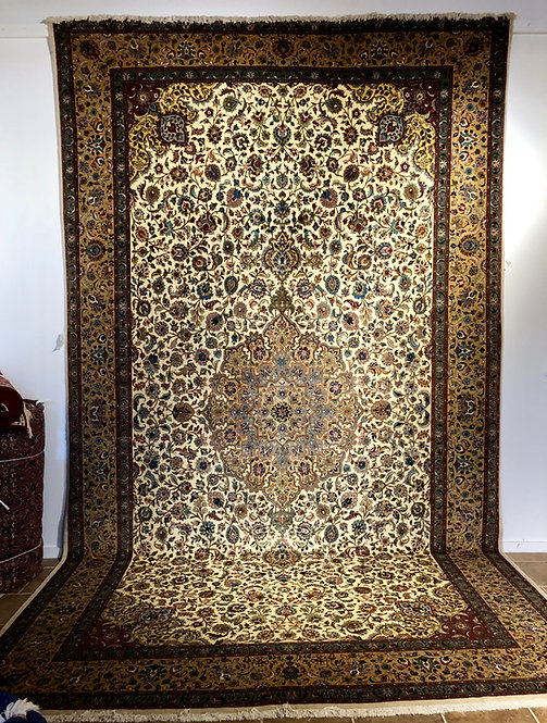 "10'10""X18'7"" Semi-Antique Persian Tabriz"
