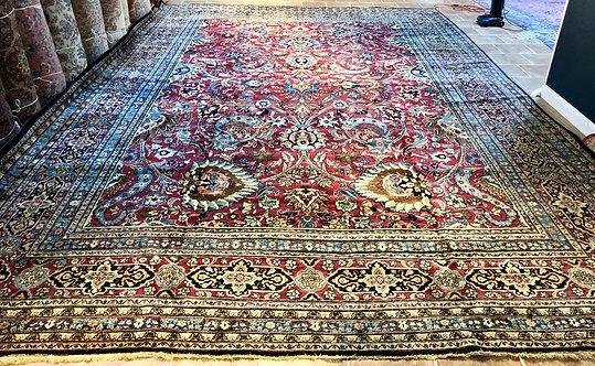 """15'X22'7"""" Semi-Antique Persian Meshad"""