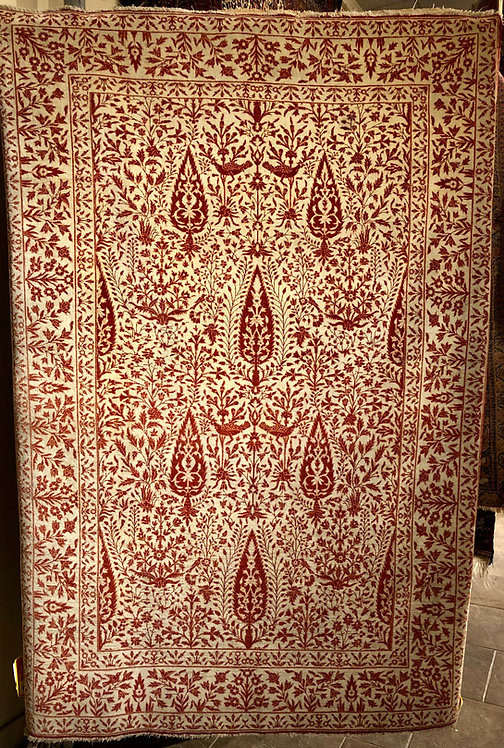 5'X8' Antique Rust Agra