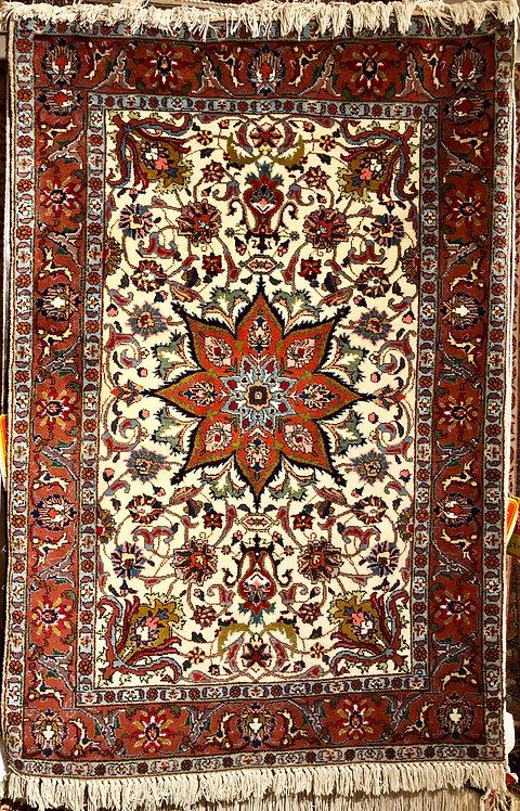 """3'2""""X4'9"""" Persian Tabriz"""
