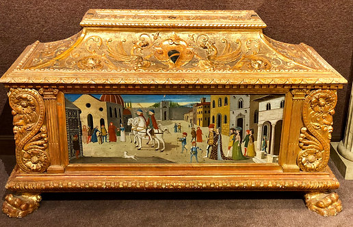 Antique Italian Cassone