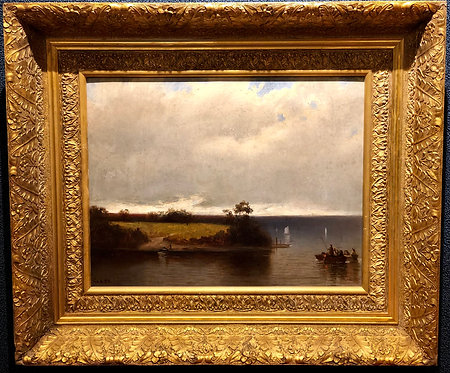 Boaters on the Lake By: James William Glass