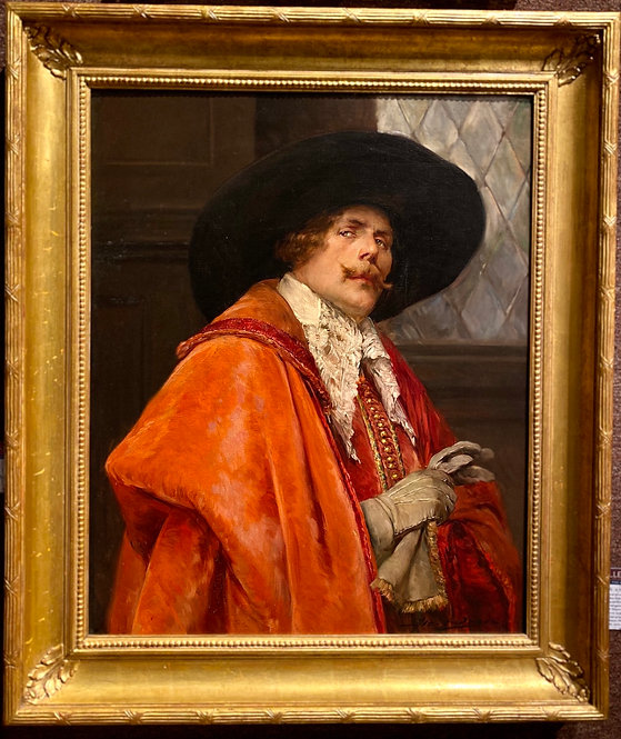Portrait of a Cavalier with a Red Cape By: Alex De Andreis