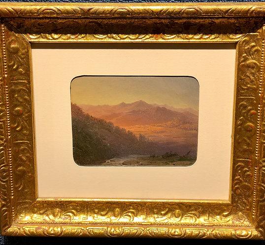 American Mountain Landscape By: Sanford Robinson Gifford