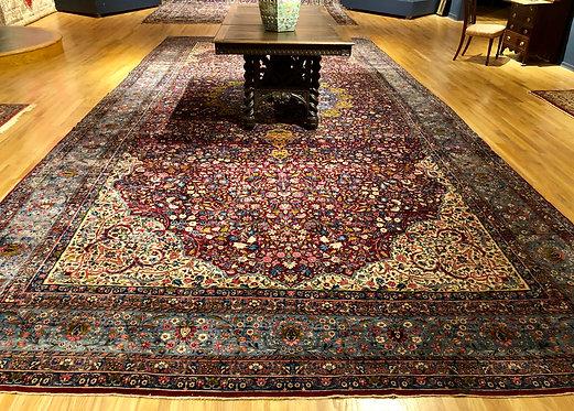 """11'6""""X24'3"""" Antique Persian Kerman"""