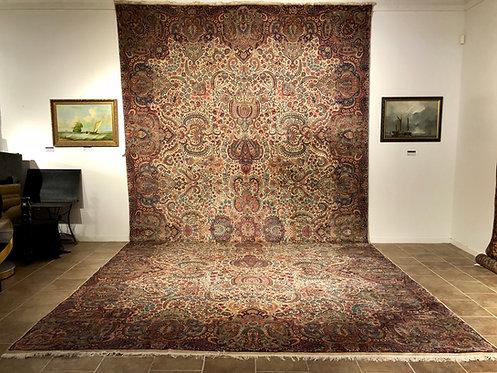 """13'5""""X24'6"""" Antique Persian Kerman"""