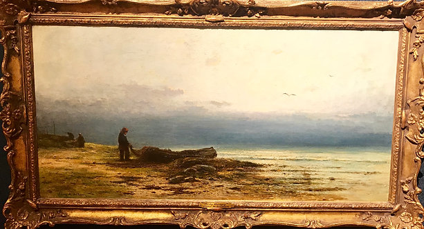 Boat on the Shore by James Alfred Aitken