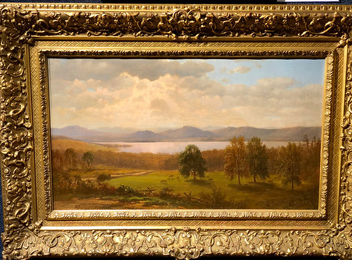 Mountain Down, Lake George By: George Innes