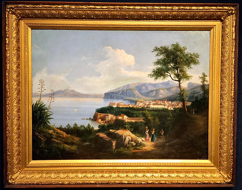 """View of Naples"" By: Gioacchino Lapira"