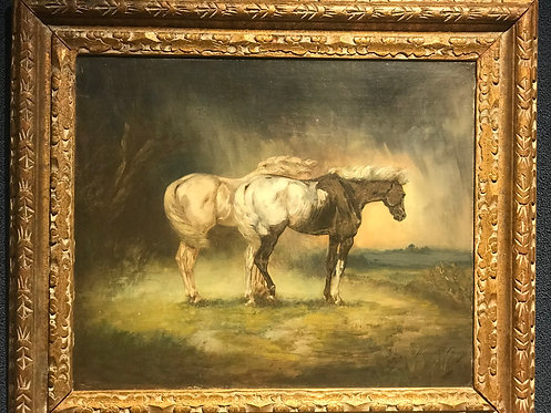 Horses in the Storm by Daniel Casey