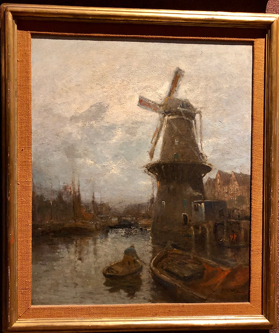 Landscape with Windmill By: William Ritschel