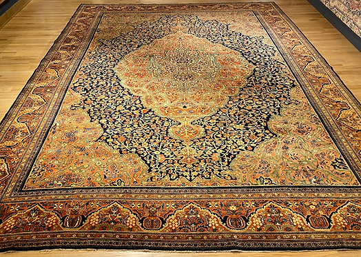 "11'3""X14'2"" Antique Persian Fereghan Sarouk"
