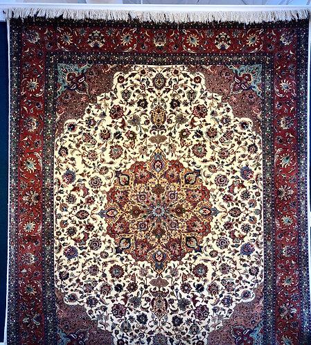 "9'11""X12'10"" Very Fine Persian Tabriz"
