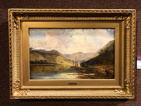 Antique Seascape By: Samuel Bough