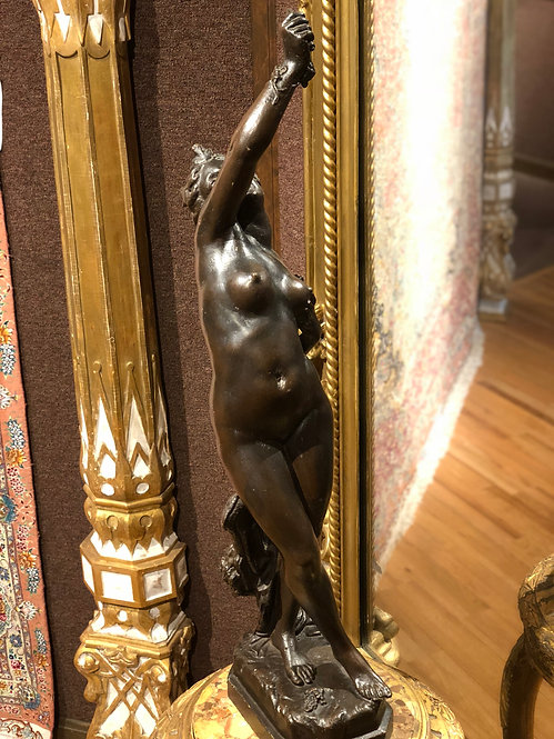 Antique Nude Bronze Italian 16th Century