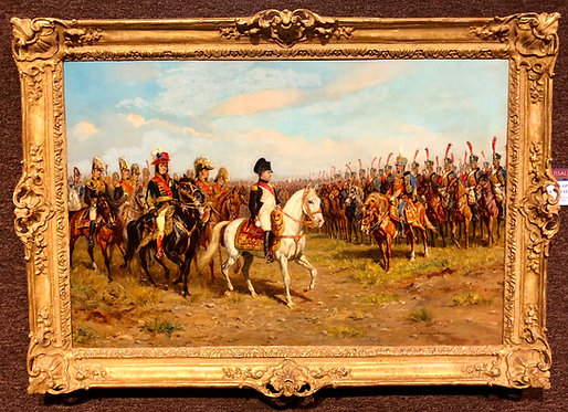 """""""Napoleon and His Army"""" By: Raymond Desvarreux"""