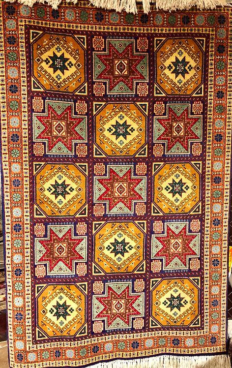 """3'4""""X5'1"""" Persian Geometric Tabriz"""
